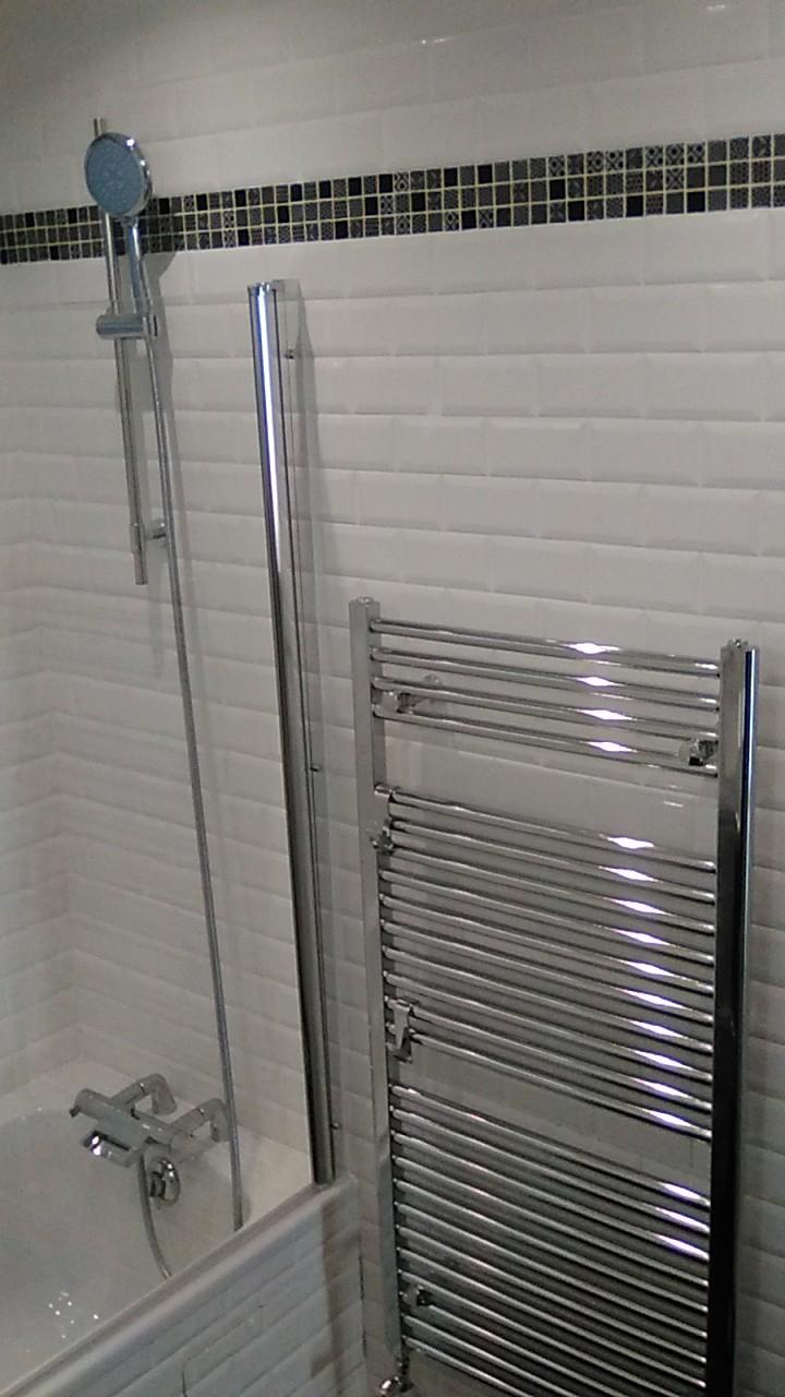 Rénovation d'une douche - By B2 Plomberie Chauffage